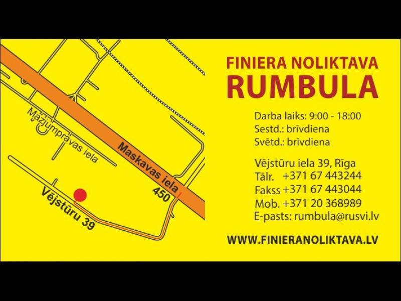 """Finiera noliktava Rumbula"""