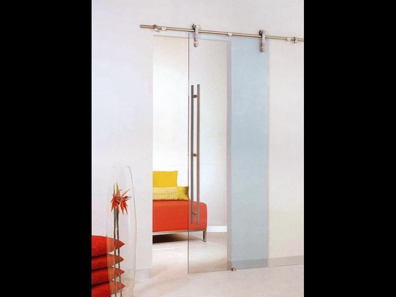 Bīdāmās stikla durvis