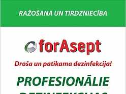 ITLA.LV Dezinfekcijas līdzekļi forAsept