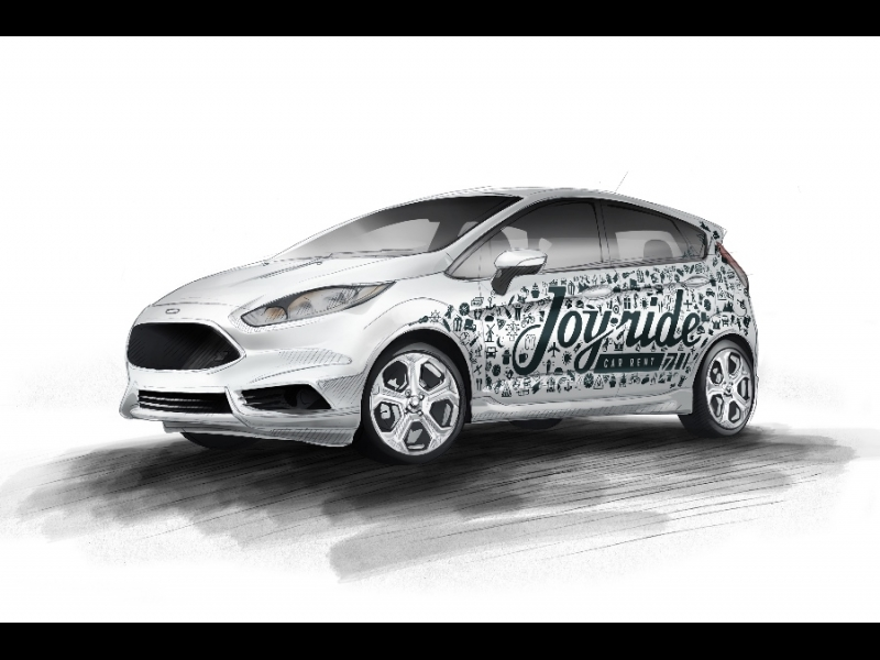 Auto reklāma Ford Fiesta