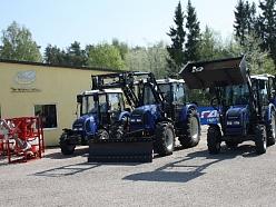 Traktortehnika Talsu novadā