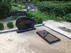 Oriģinālas kapu apmales