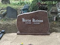 Kapakmeņi, kapu pieminekļi, Rīga