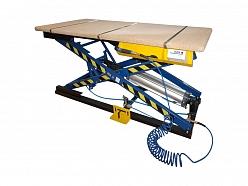Pneimatiskais tapsēšanas galds