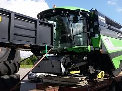 Traktortehnikas pārvadāšana