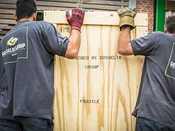 Gosselin uses custom made crates