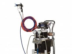 GRACO 2 komponentu krasošanas iekārta