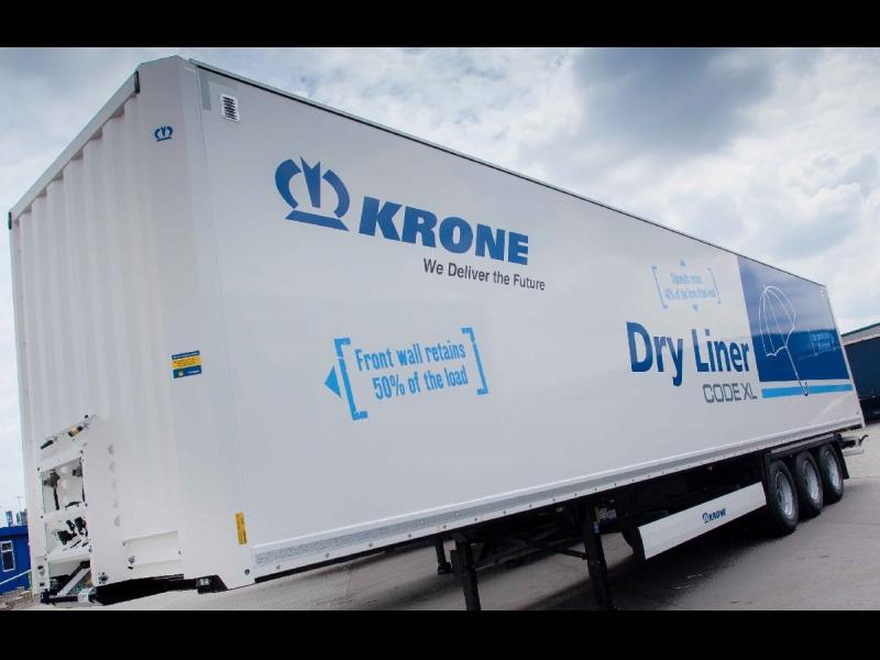 Krone DRY Liner Koffer kravas furgons