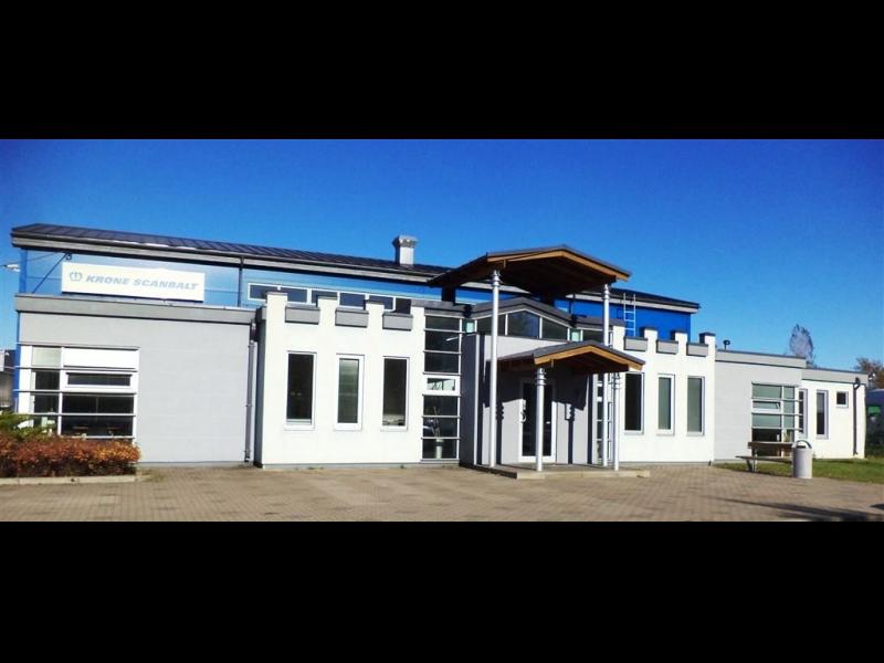 Krone Scanbalt oficiālais Fahrzeugwerk Bernard Krone GmbH pārstāvis dīleris Latvijā puspiekabes pārdošana tirdzniecība noma visa veida puspiekabju remonts garantijas serviss rezerves daļas