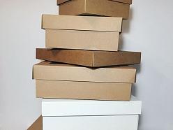 Dažāda izmēra kartona kastītes