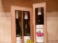 Kaste vīna pudelei
