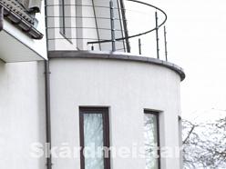Jumta noteksistēmas, noteksistēmu ventilācijas izgatavošana