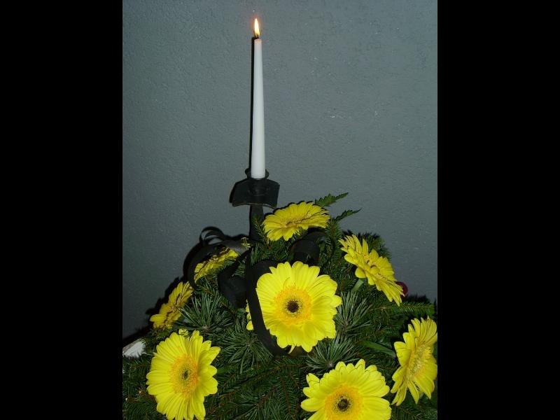 Sēru floristika, ziedi, vainagi