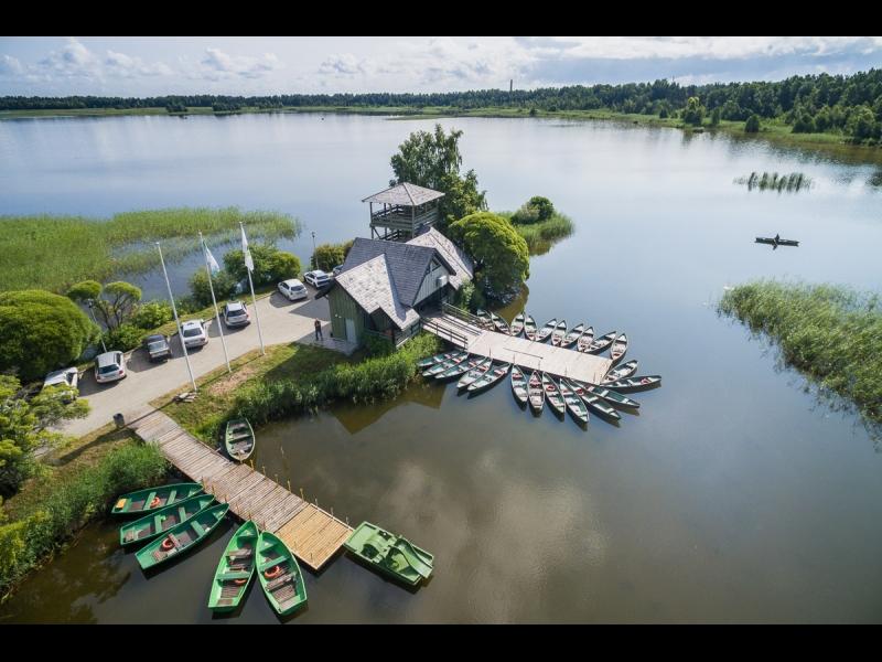 Kaņiera ezera laivu bāze