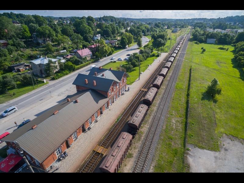 Tukums I dzelzceļa stacija