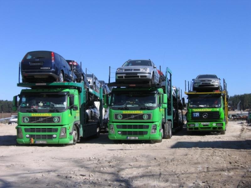 Auto transportēšana no ārzemēm
