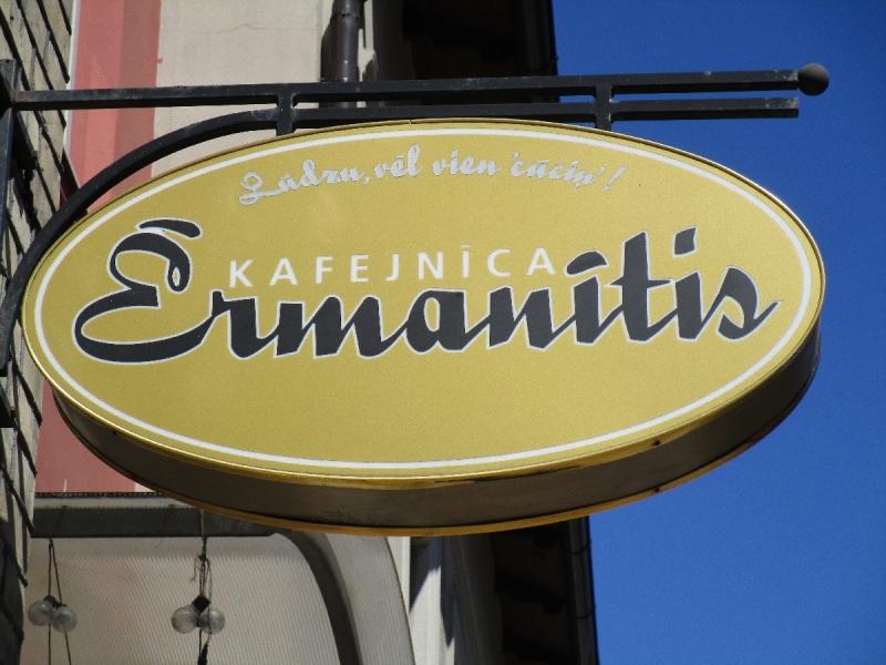 Kafejnīca Ērmanītis Ventspilī