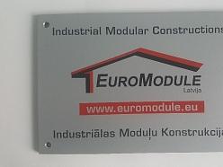 Industriālās moduļu konstrukcijas Euromodule.lv