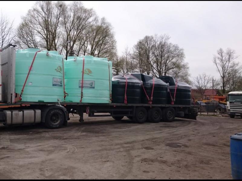 Freeway Logistics kravas pārvadājums ar platformu