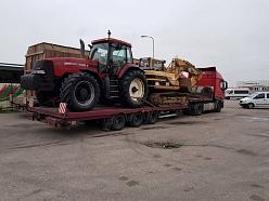 Freeway Logistics lauksaimniecības tehnikas pārvadājumi