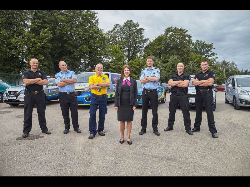 Grifs AG apsardzes darbinieki