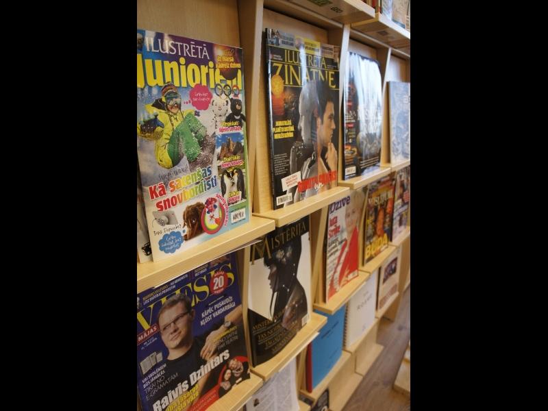 Latvijas Neredzīgo bibliotēka. Grāmatas