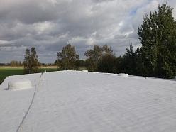 Lēzena jumta remonts