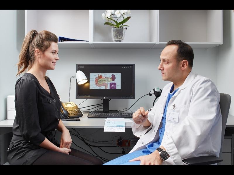 Gastroenterologa konsultācija
