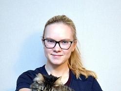 Dr. Irīna Aļenina, zinoša veterinārārste ar lielu perspektīvu