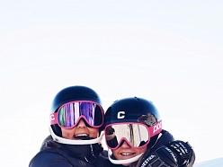 Kalnu slēpošanas ķiveres ar fis homoligāciju