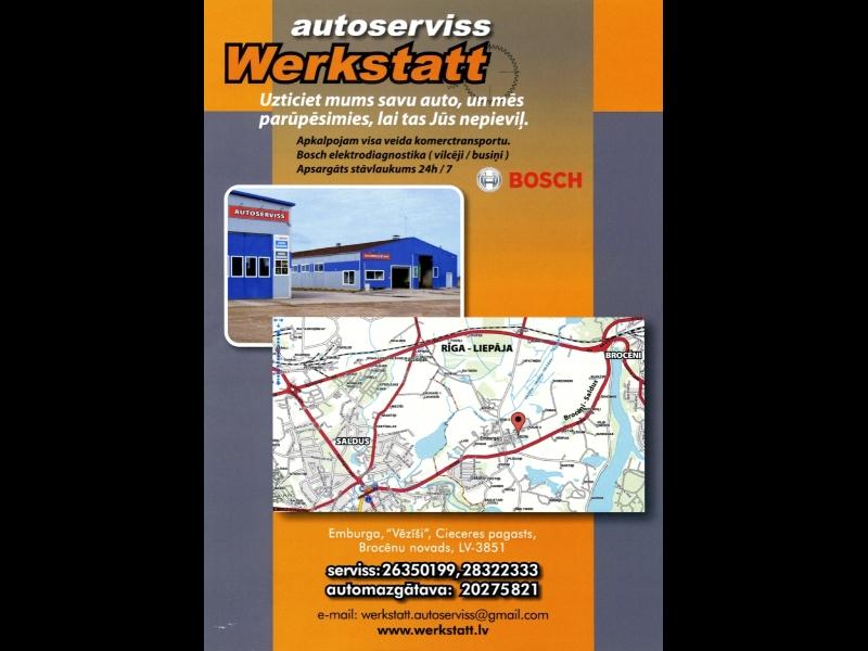 Autoserviss Werkstatt