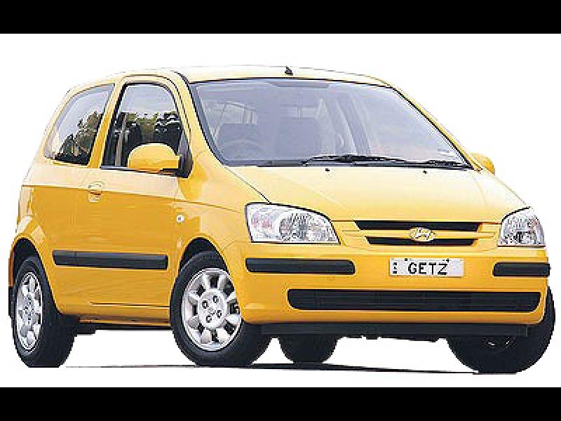 Hyundai getz, rent a car, riga