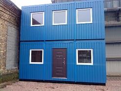 2 stāvu moduļu ēka 36 m2