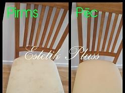 Zamša krēslu ķīmiskā tīrīšana