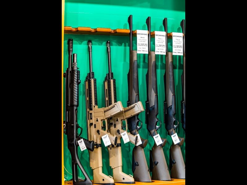 Mednieku ieroči, medību ieroči, tirdzniecība, ieroči tēmekļi medniekiem, Rīgā, Maskavas 243