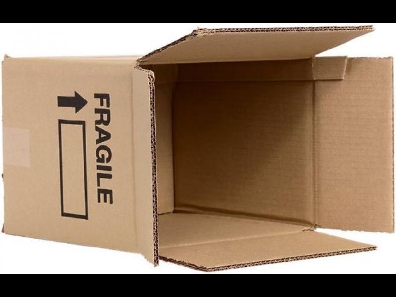 Kartona kastes, gofrētā kartona kastes