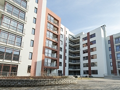 Daudzdzīvokļu mājas jaunbūve