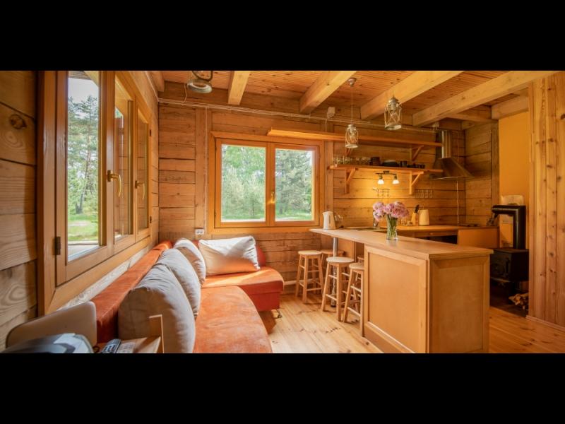 Viesu mājas SKLANDAS. Meža māja