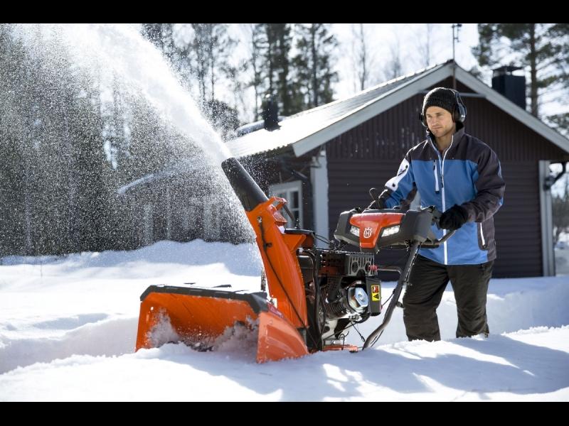 Sniega pūtēji Husqvarna, Stiga, MTD