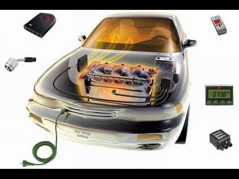 Defa WarmUp, sildelementi automašīnai