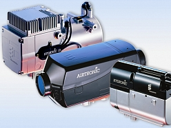 Gaisa autonomais sildītājs AIRTRONIC – siltums vadītājam un kravai
