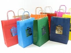 Krāsaini krafta maisiņi