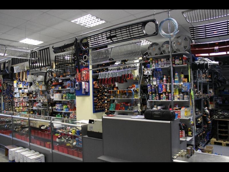 SPARNIS DS, Krievijas auto rezerves daļu veikals