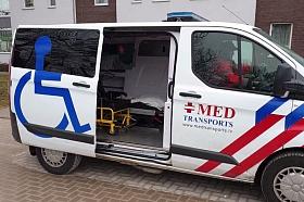 "SIA ""MED TRANSPORTS"", sanitārais transports"