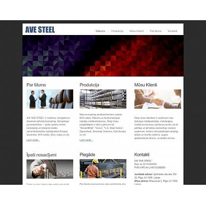 """Ave Steel"", SIA, Metālu tirdzniecība"