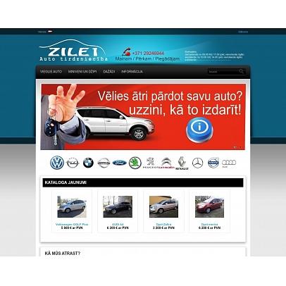 """""""Zīle 1"""", SIA, automašīnu tirdzniecība"""