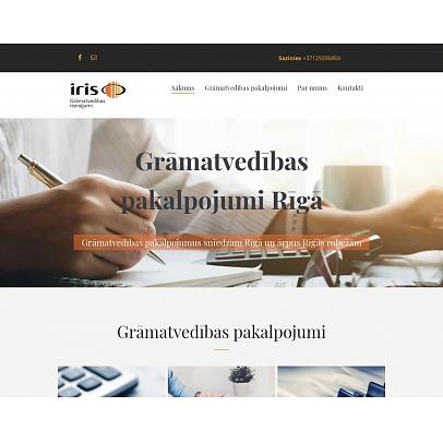 """""""Grāmatvedības birojs IRIS"""", SIA"""