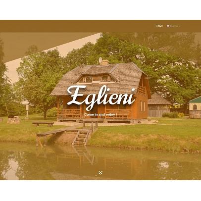 """""""Eglieni"""", viesu nams, kafejnīca"""
