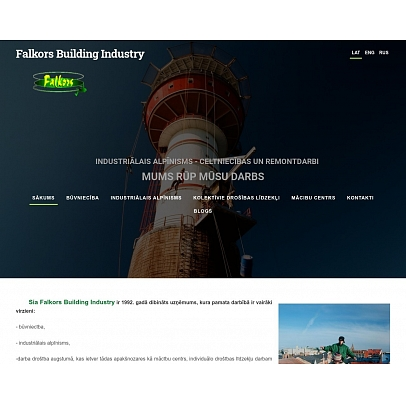 """""""Falkors Building Industry"""", SIA"""