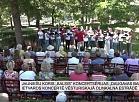 """Latgales Reģionālā TV:Jauniešu koris """"Balsis"""" koncertē vēsturiskajā Oliņkalna estrādē"""